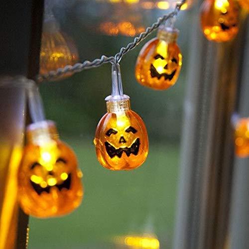 BLTR Deslumbrante Batería de luz LED de Cadena operados Fiesta de Halloween/Calabaza Colgando luz de la Secuencia Decorativa/LED for la decoración del Partido/Vacaciones Suave