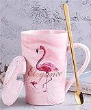 Mark Cup Keramik Flamingo Kaffee Tee Marmor Geschenk Tasse Geburtstagsgeschenk
