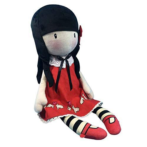Gorjuss M-101-G Muñeca de Trapo Time to Fly, 65 cm