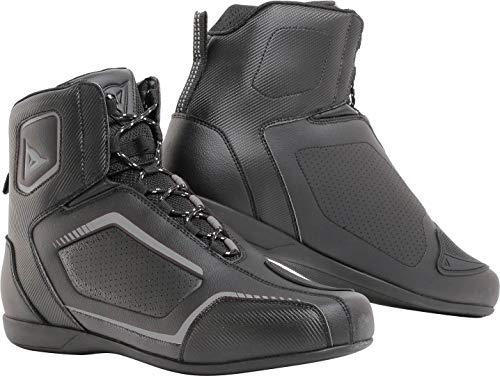 Dainese Herren Raptors Air Shoes Motorrad Schuhe, Schwarz Schwarz Anthrazit, 42 EU