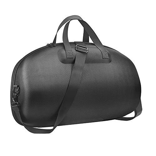 Simumu Hard Case for for JBL Boombox 2 & JBL Boombox,Special Improvement-Shockproof Elastic Bump, Waterproof, Scratch-Resistant (Black+Grey Lining)