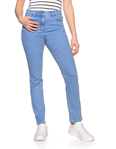 Bexleys Woman by Adler Mode Damen Jeans Bleached 46