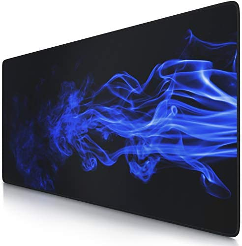 TITANWOLF XXL Speed Gaming Mouse Mat - Mouse Pad 900 x 400 x 4mm - XXL mousepad - table mat large size - improved precision and speed