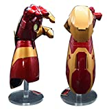 Gmasking Motorized Mark XLII Adult Wearable Arc FX Wrist Armor Cosplay Gauntlet 1:1 Replica Red,Gold