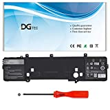 DGTEC 191YN Replacement Laptop Battery for Dell Alienware 15 R1 R2 Series ALW15ED-1718 1728 1828 1828T 2718 2728 Series Notebook P42F 410GJ 2F3W1 02F3W1 8NH55 08NH55(14.8V 92Wh 6380mAh)
