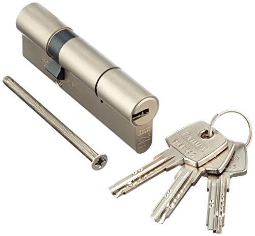 ABUS EC550NP Profilzylinder EC550 NP, Lg 30/60mmm.3 Schlüssel, mit N+G, Wendeschlüssel, 30/60