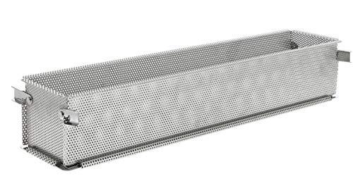 DE BUYER -3210.48 -moule inox perforé pliant geoforme 50,5 x 14,5 x 9 cm