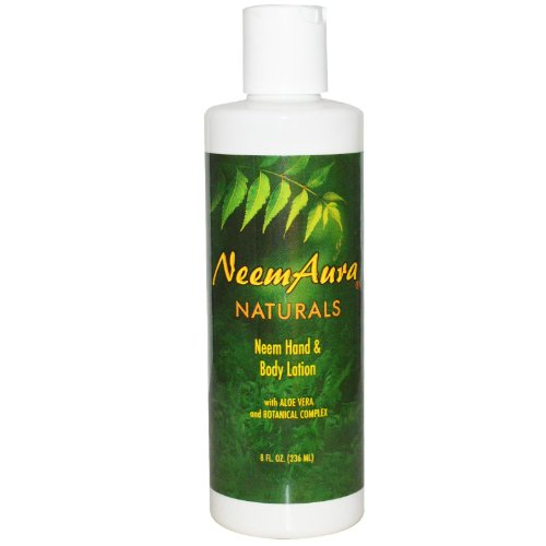 Neem Hand Body Lotion, 8 fl oz (236 ml) - Neemaura Naturals Inc