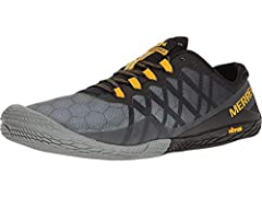 Mesh, TPU Upper Zero Drop Vibram TC5 Outsole Trail Protect Pad Mselect Fresh Lining; Stack height (heel/toe): 6.5mm; footbed: 0mm; insole: 3mm; midsole: 0mm; sole: 1.5web, 2mm lugs