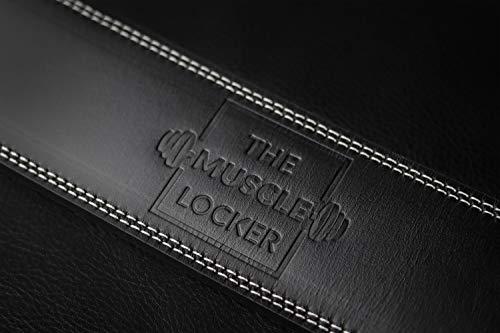 The Muscle Locker 13mm Power Belt - Genuine Cowhide Leather, 4