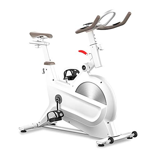 Amazing Deal WDDMFR Exercise Bike, Indoor Cycling Bike Stationary, Shock-Absorbing Cushion Magnetic ...