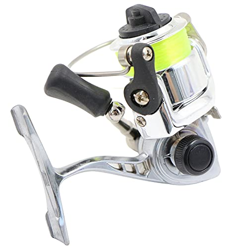 Carretes de Pesca Spinning Reel- Carp Smooth Fishing Reel Freewheeling Reel 2+1BB Bearing Speed Ratio 4.3:1 Collapsible Handle Right and Left Hand Interchangeable for Freshwater,Saltwater Fishing