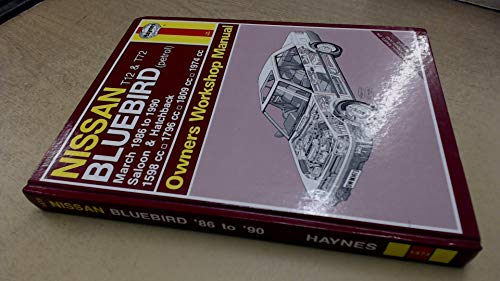 Nissan T12 and T72 Bluebird (Petrol) March 86-90 Owner's Workshop Manual
