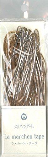 メルヘンアート ラ メルヘン・テープ クラフト 1.5mm col.092 ゴールド 15g 約12m 1玉
