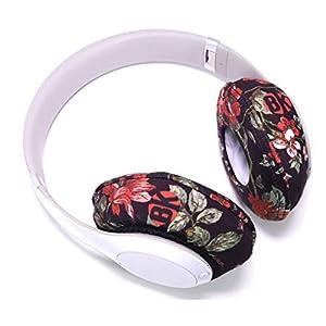Beat Kicks Protective Headphone Covers (Regular, Floral)