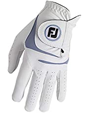 Footjoy Weathersof handschoen heren wit/blauw