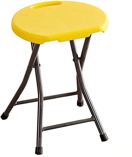 B-fengliu Taburete Taburete Taburete, Simple Silla de Tijera Simple Plegable heces Portable Adulto Sofá heces (Color : F)