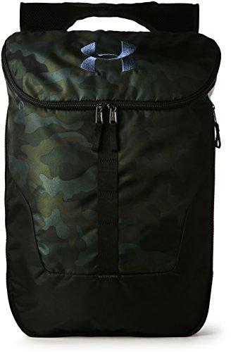Under Armour UA Expandable Sackpack, Zaino Unisex Adulto, Marrone (Desert Sand/Black/Black), Taglia unica