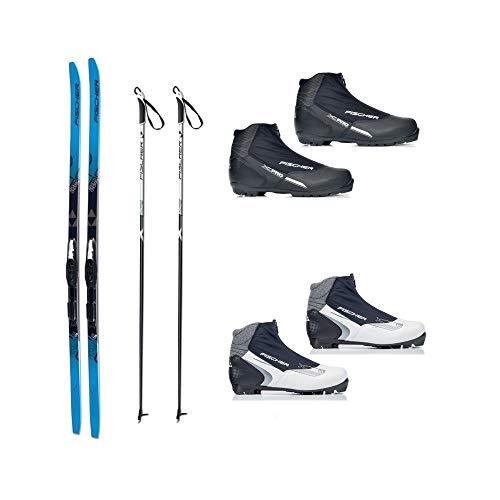 Langlauf Ski Set Cruising Fischer Jupiter Crown + Bdg + Schuhe XC Pro 2014/15 (174 Zentimeter, 40 Damen)