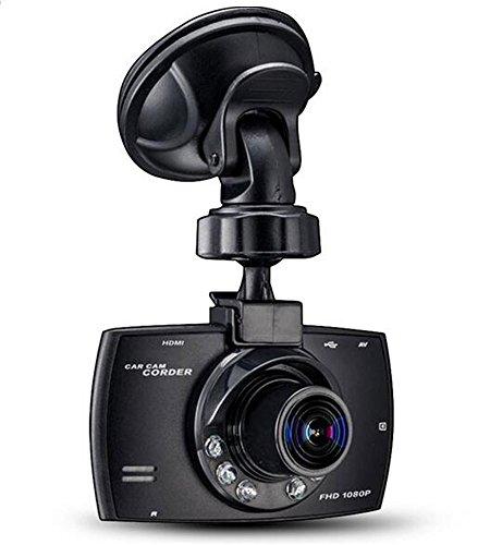 Car Black Box, SQdeal 2.7 inch 1080P FHD Car DVR Road Dash Digital Video Recorder Car Camera Camcorder with Night Vision and Motion Detection/G-Sensor