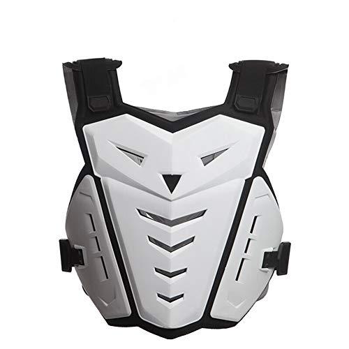 WJH Motorbike Body Guard Vest, Motorfiets Body Armour Armor Borstbeschermer Rugbeschermer Pro Street Motocross ATV Guard Fietsen Skiën Rijden Skateboarden Borst Terug Rugbescherming