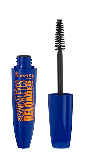 Rimmel London Scandaleyes Reloaded Máscara de Pestañas Tono Waterproof - 26 gr