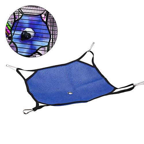 Redxiao 【𝐅𝐫𝐮𝐡𝐥𝐢𝐧𝐠 𝐕𝐞𝐫𝐤𝐚𝐮𝐟】 Leichtes Haustier-Hängebett, einfach zu lagernde Hamsterschaukel, Aktivitäts-Hängebett Einfaches Design für Hamster-Eichhörnchen(L(34 * 34cm))