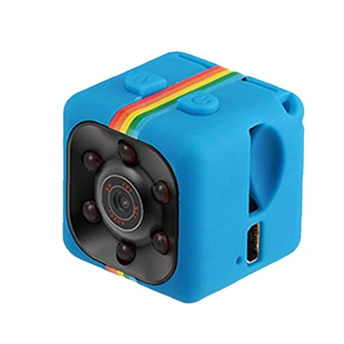 NaiCasy Videocamera HD 1080P del sensore di Movimento di Visione Notturna SQ11 Mini videocamera Micro DVR Camara Sport DV Video Recorder Blu