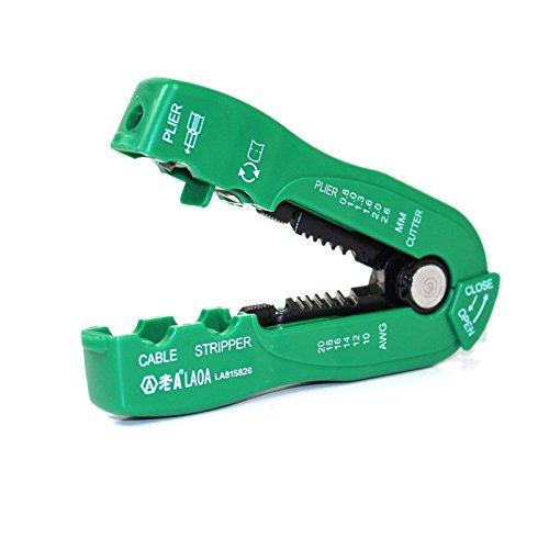 LAOA Multifunzione Filo Spellafili Cavo Taglierina Linea Filo Stripping Crimp Tool Mini Portatile Utensili A Mano 0.8-2.6mm