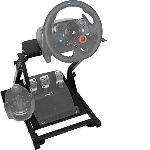 Ner G29 Lenkradständer für Logitech G27 G25 G29 und G920 Lenkrad Gaming Wheel Stand Racing Lenkradständer mit V2 Schalthebelhalterung