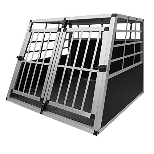 Hondenbench | Zwart metaal | Inklapbaar
