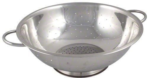 Browne Foodservice R27 Passoire en acier inoxydable, 10–1/4 pouces Par les services de l'entrepôt
