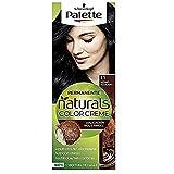 Schwarzkopf Palette Naturals Color Creme - Tono 1.1 cabello Negro Azulado - Coloración Permanente – Óptima cobertura de canas – Colores naturales