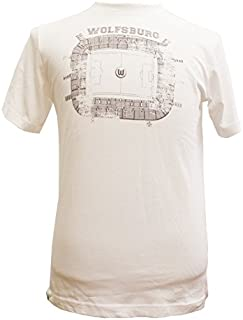 VfL Wolfsburg T-Shirt Stadion weiß
