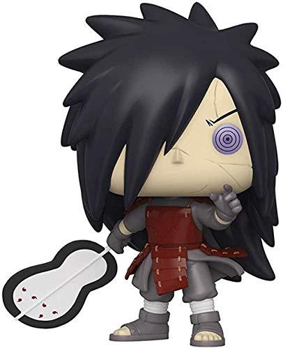 A-Generic Pop Figuras de acción Naruto Uchiha Madara Anime Figuras de Marionetas Juguetes de PVC Modelo de decoración de Escritorio de Mesa-UN