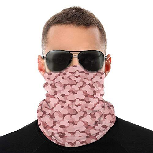 Pink Penis Neck Gamasche Wärmer Sturmhaube Kopfbedeckung Gesicht Schal Bandana Mit Filtern