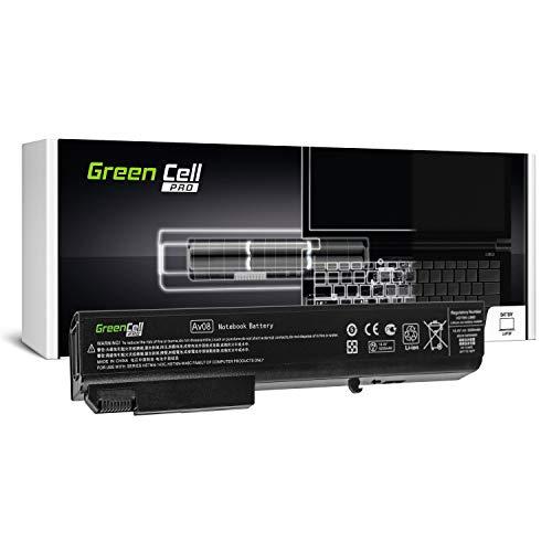 Green Cell Pro Serie HSTNN-LB60 HSTNN-OB60 Laptop Akku für HP EliteBook 8530p 8530w 8540p 8540w 8730w 8740w (Original Samsung SDI Zellen, 8 Zellen, 5200mAh, Schwarz)