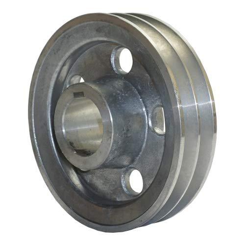 Riemenscheibe D140-2A H38+DOWEL KIT Kompressor Druckluft Scheibe