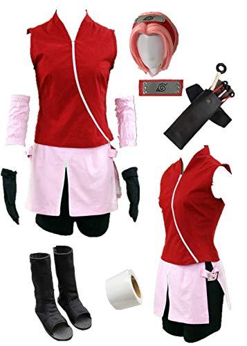 Anime Shippuden Haruno Cosplay Kostüm...
