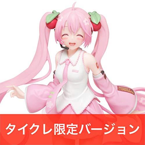 桜ミク タイクレ限定 にっこりver. フィギュア タイトーオンラインクレーン