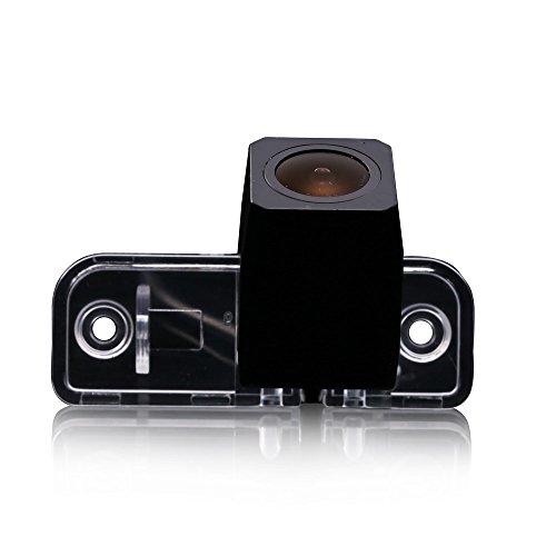 HDMEU Caméra de Recul Voiture IP67 étanche Couleur Haute Définition Grand Angle de Vsionnement avec Plaque D'immatriculation Vision Nocturne pour CLS Class CLS550/CLS300/320/350/500/E230/320CDI