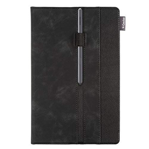 Gecko Covers Easy-Click 2.0 Business Cover [schwarz, Samsung Tab A7 10.4