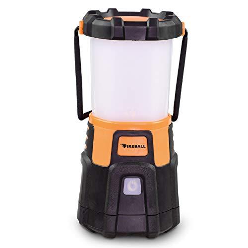 Blazin Fireball   Dimmable Lantern Battery Powered   1000 Lumen LED Lantern   Emergency, Storm, Camping Torch   Battery Operated Lights