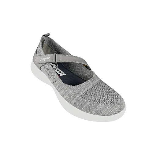 Jhayber Comfort Foam Sra V21, Zapatillas Deportivas Mujer, Grey, 38 EU