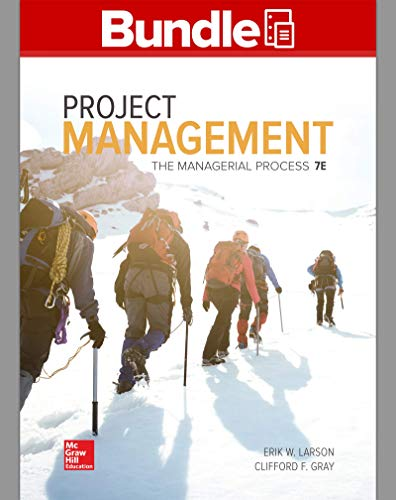 GEN COMBO LOOSELEAF PROJECT MANAGEMENT: MANAGERIAL PROCESS; CONNECT ACCESS CARD