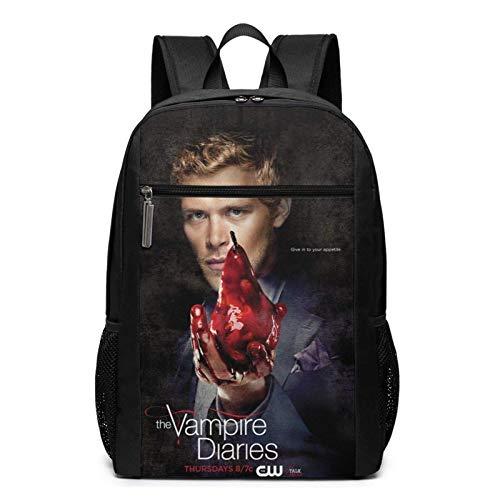 Hdadwy The Va-mp_ire Di-ari_es Cool Adult Backpack Bandolera para viajar