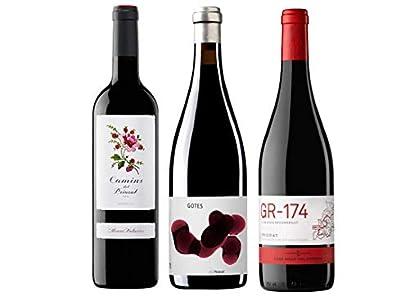 Pack Mysecretwine Los Mejores Vinos de Priorat. 1 Camins del Priorat, 1 Gotes del Priorat y 1 GR-174