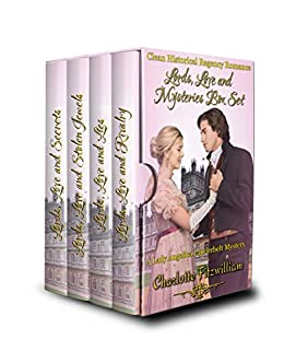 Lords, Love and Mysteries Box Set (Books 1-4) (Large Print): Clean Historical Regency Romance by [Charlotte Fitzwilliam, His Everlasting Love Media]