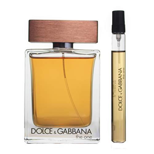 Dolce & Gabbana The One for Men 2 Piece Set Includes Eau De Toilette Spray, 0.33 Ounce