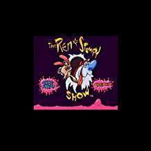 Ren & Stimpy Show The - Time Warp 16 Bit Big Gray Game Card For Ntsc Game Player